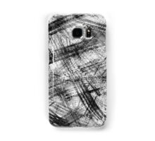 Black brush stokes Samsung Galaxy Case/Skin