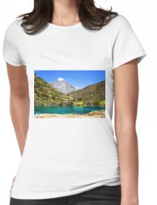 Waterscape in the Peruvian Andes. Photographed near Huancayo, Peru  Womens Fitted T-Shirt
