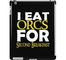 LOTR-I Eat Orcs for Second Breakfast iPad Case/Skin