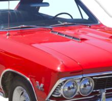 Red 1966 Chevy Chevelle SS 396 Sticker