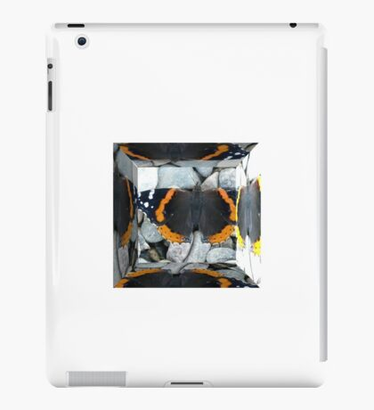 A Gimp Mirrored Butterfly iPad Case/Skin