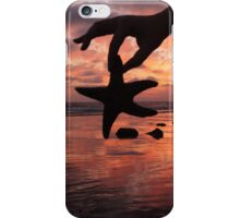 Starfish Sunset  iPhone Case/Skin