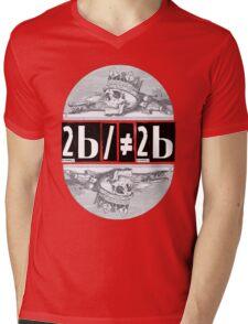 Hamlet: 2b/≠2b Mens V-Neck T-Shirt
