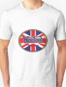 Norton Vintage Motorcycle UK Unisex T-Shirt