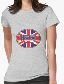 Norton Vintage Motorcycle UK Womens Fitted T-Shirt