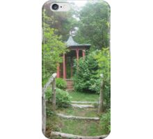 Pagoda in the Woods iPhone Case/Skin
