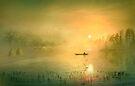 Fishing In The Mist by Igor Zenin
