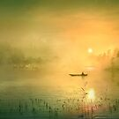Fishing In The Mist by Igor Zenin