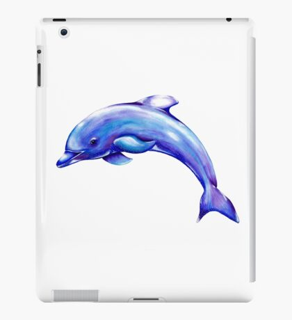Dolphin. Watercolour and Oil iPad Case/Skin