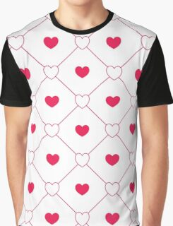 Lovely Hearts Graphic T-Shirt