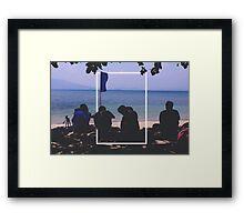 Rectangle No. 10 Framed Print