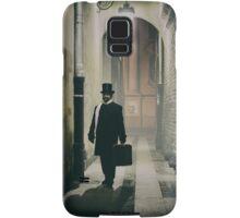Victorian man with top hat  Samsung Galaxy Case/Skin