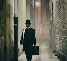 Victorian man with top hat  by JBlaminsky