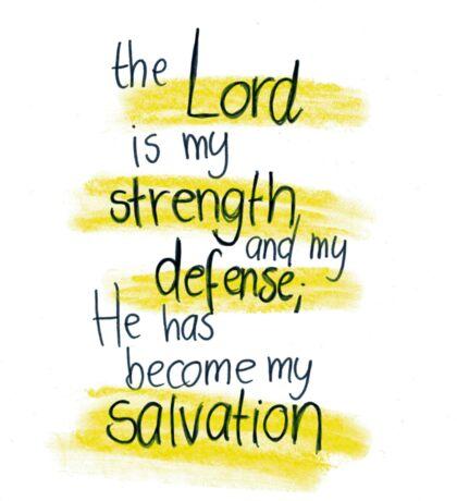 Psalm 118: Salvation Sticker