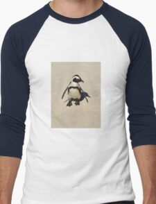 Lone penguin Men's Baseball ¾ T-Shirt