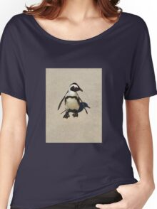 Lone penguin Women's Relaxed Fit T-Shirt