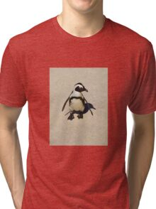 Lone penguin Tri-blend T-Shirt