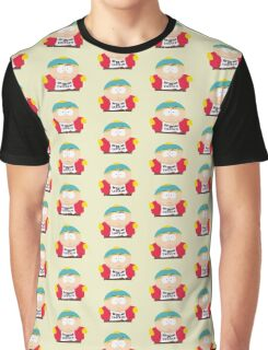 """Eric Cartman """"Keep your laws off my chicken"""" Graphic T-Shirt"""