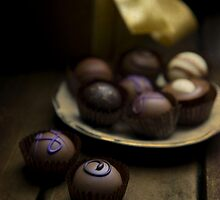 Chocolate pralines by JBlaminsky