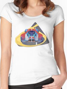 2016 GT Le Mans  Supercar Women's Fitted Scoop T-Shirt