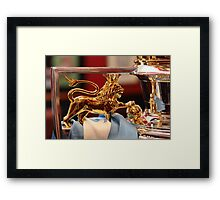 Hear me  R O A R! Framed Print