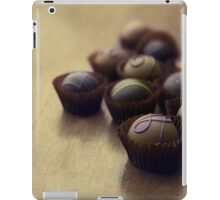 Set of chocolate pralines iPad Case/Skin