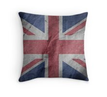 United Kingdom Great Britain Fabric Flag Throw Pillow