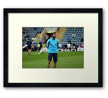 The Smiling Assasin Framed Print