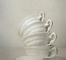 Still life with teacups by JBlaminsky