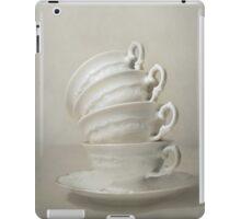Still life with teacups iPad Case/Skin