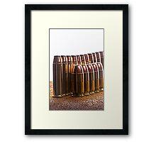 Ammunition Framed Print