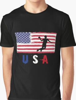 USA Handball 2016 competition 7 a side funny t-shirt Graphic T-Shirt