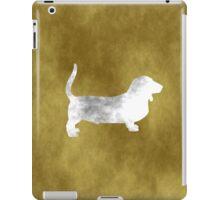 Basset Hound - Grunge style iPad Case/Skin