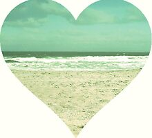I Heart the Beach by bunhuggerdesign