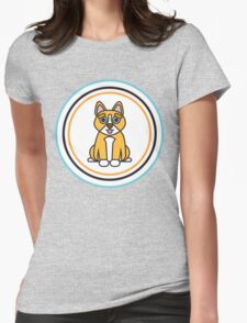 Complementary Corgi Womens Fitted T-Shirt