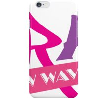 TRAX New Wave Music iPhone Case/Skin