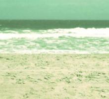 I Heart the Beach Sticker