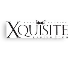 Xquisite Woman's Club Canvas Print