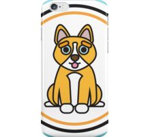Complementary Corgi iPhone Case/Skin