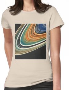 Saturn 1 Womens Fitted T-Shirt