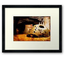 oh gawd that's better Framed Print