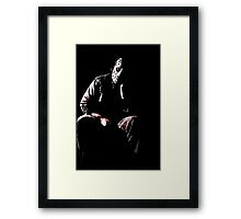 and i would have gotten away with it Framed Print