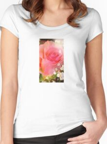Mom's favorite Rose Women's Fitted Scoop T-Shirt
