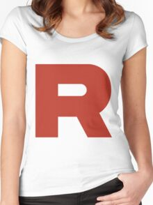 Pokemon Go - Team Rocket Women's Fitted Scoop T-Shirt