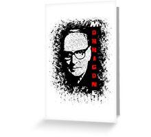 Ennio Morricone: Maestro series Greeting Card