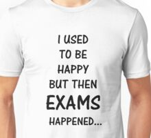 The horrors of exam season Unisex T-Shirt