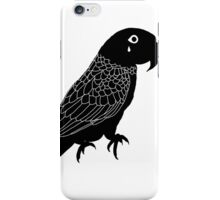 Lear's macaw tear iPhone Case/Skin