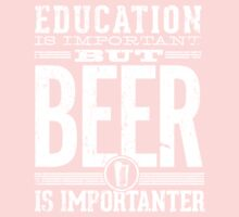 Beer is Importanter One Piece - Long Sleeve