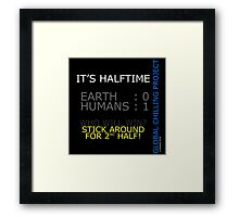 the ultimate world cup Framed Print