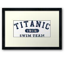 Titanic Swim Team Framed Print